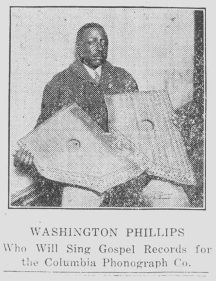 michael corcoran on washington phillips and the  u0026quot manzarene u0026quot